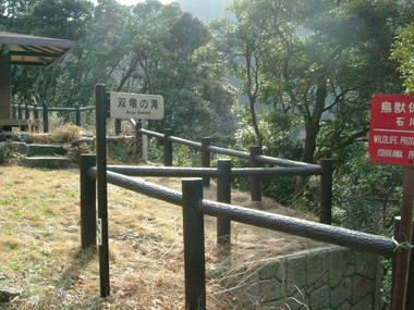 双竜の滝展望所