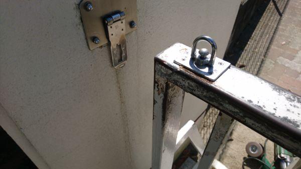 門扉錠金具製作