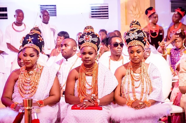 The 3 wives of the Oba Ewuare II