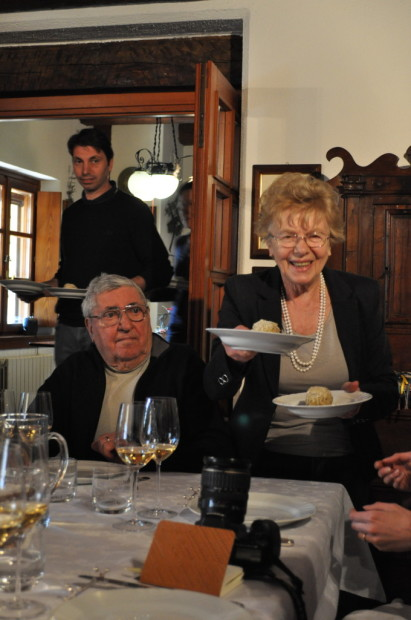 The Rapuzzi family shared an incredible lunch with us