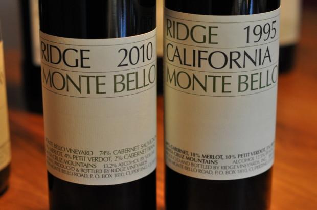 Tasting Monte Bello