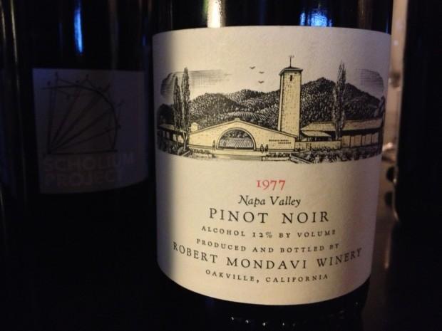 1977 Mondavi Pinot Noir