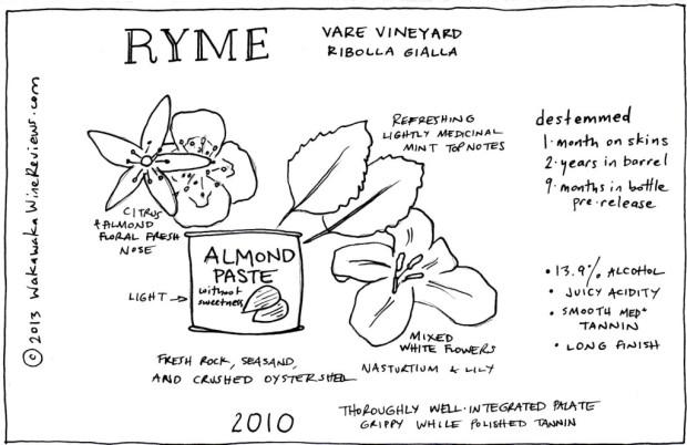 Ryme 2010 Ribolla Gialla