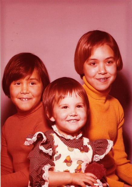 Native kids in the 1970s