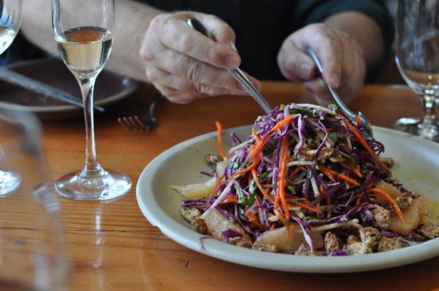 Cabbage Citrus Salad