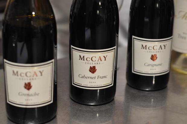 Tasting McCay reds