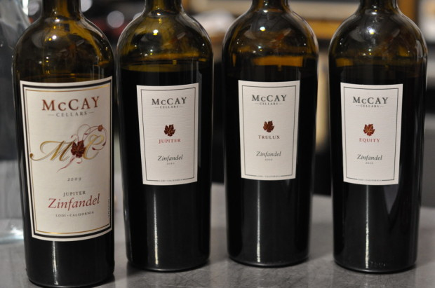 Tasting McCay Zinfandels