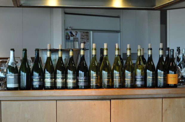 The Chardonnay line-up