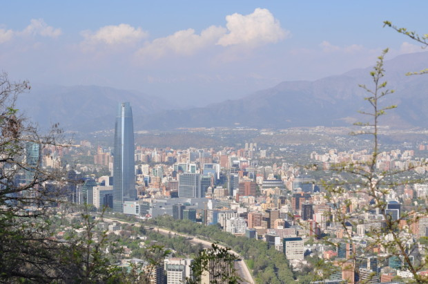 The tallest tower in South America, Santiago