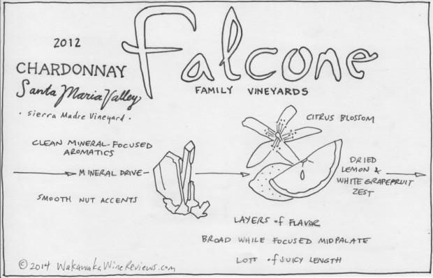 Falcone 2012 Chardonnay
