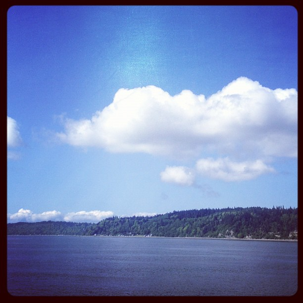 Ferry to Whidbey Island Winery