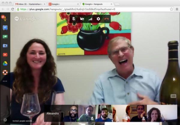 Emeritus Vineyards Google Video Hangout