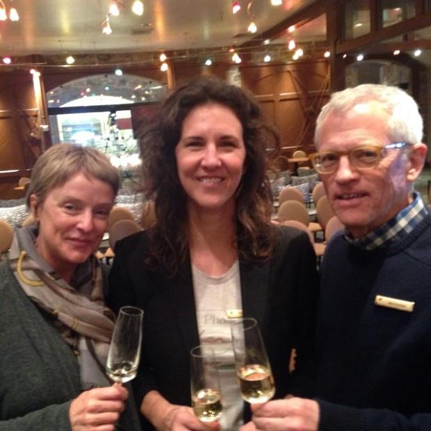 Frank Prial Fellowship, with Linda Reiff + Jim Gordon
