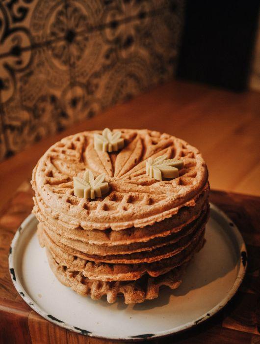 cannabis waffle