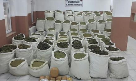 Turkish Police Just Seized 7.2 Tons Of Marijuana In Raids This Week