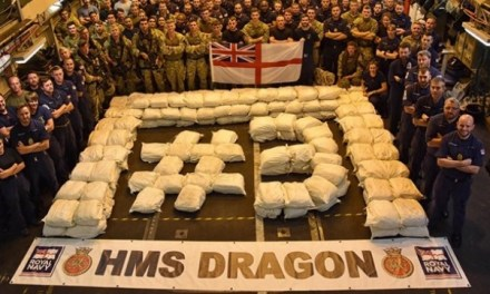 Royal Navy Intercepts Santa Dhows !  Seize $US100 Million Hashish