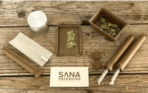 Sana Packaging Announces New Line of Reclaimed Ocean Plastic Cannabis Packaging