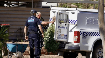 South Australian Man Ends Up In Hospital After Setting His Shed On Fire, Police Discover Pants & Hydroponic Equipment