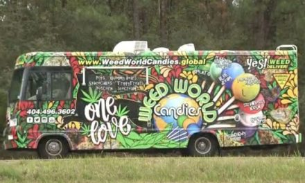 "Really !!!! Officers pulled over the ""Weed World Candies"" van on I 65 Monday afternoon."