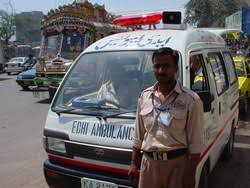 An Only In Pakistan Bust !  10Kg of Hash Found In Ambulance !