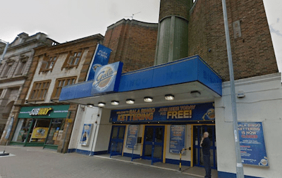 Bingo – Police Hit Jackpot. Cannabis factory discovered at former Gala Bingo hall in Kettering