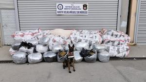 Turkish police seize 1 tonne of marijuana