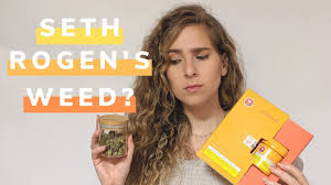 Seth Rogen Spruiks His New Weed Products