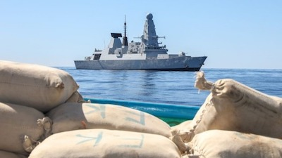 HMS Defender Seizes 2.5 Tonnes of Hashish in Indian Ocean