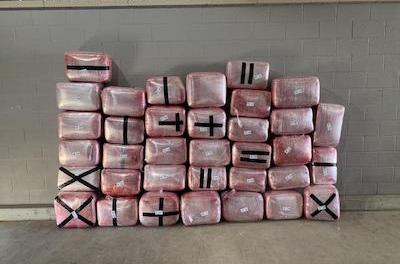 Laredo Sector Border Patrol Agents Seized a Large Amount of Marijuana at Checkpoint