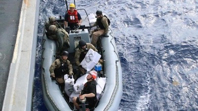 U.S. Navy Destroyer Seizes 3,500 Pounds of Weed