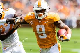 Tennessee RB Jordan arrested on gun, marijuana charges
