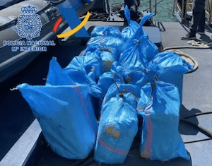 Spanish Police Find British Flagged Yacht In Med Carrying 400 KIlos Of Weed
