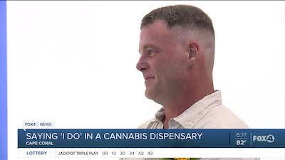 Couple Get Married In Florida Weed Dispensary !