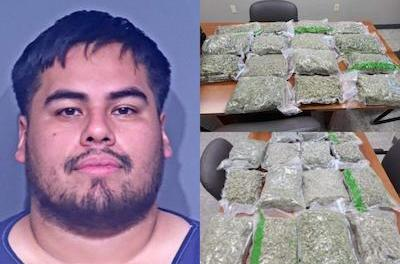 15 pounds of 'high grade marijuana' confiscated by BCSO