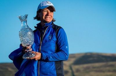 Solheim Cup Captain Catriona Matthew Turns to Golfer's CBD