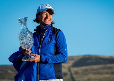 Solheim Cup Captain Catriona Matthew Turns to Golfer's CBD