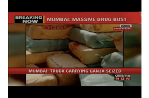 1800 kgs of Marijuana worth RS 3.6 cr seized by Mumbai's Anti-Narcotic Cell