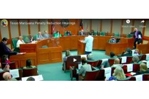 Texas Marijuana Penalty Reduction Hearings