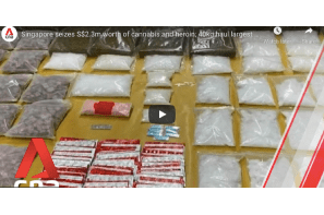 Singapore seizes S$2.3m worth of cannabis and heroin; 40kg haul largest in two decades