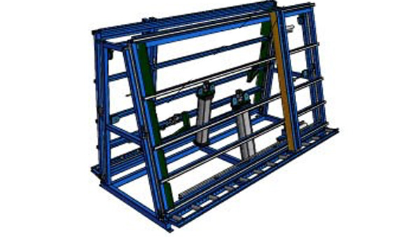 Double-Sided Assembly Rack
