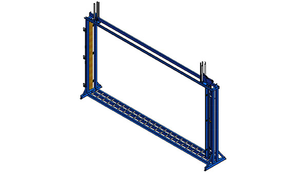 Jumbo Squaring Rack With Top Clamps_ft