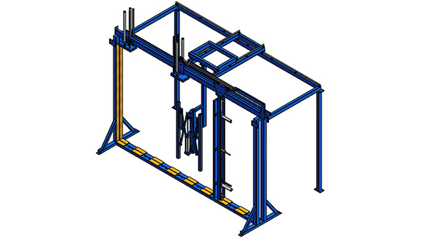 Patio Door Scissor Rack_ft