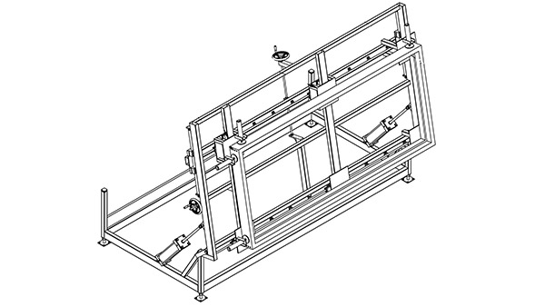 Tilting Assembly Table W/ Clamps