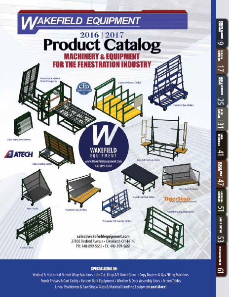 Wakefield Product Catalog 2016-2017 cover 464×600