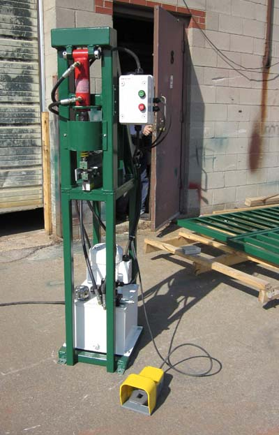Hydraulic Punch Press