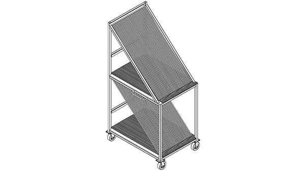 Twin Level Harp Racks_ft