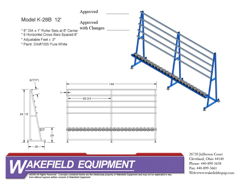Vertical Transfer Conveyor – Donut Rollers