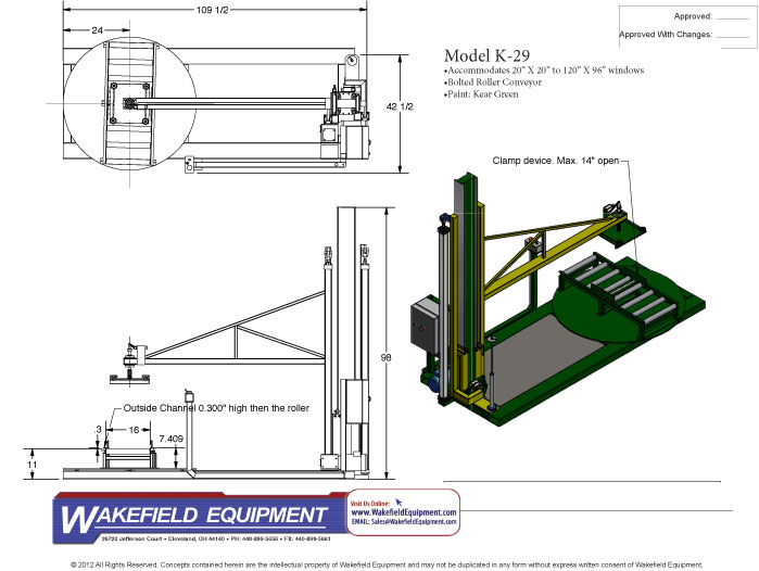 Horizontal Stretch Wrapper With Roller Platen