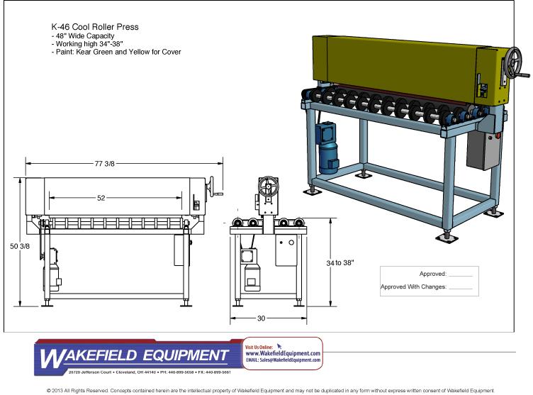 Cold Roller Press CAD
