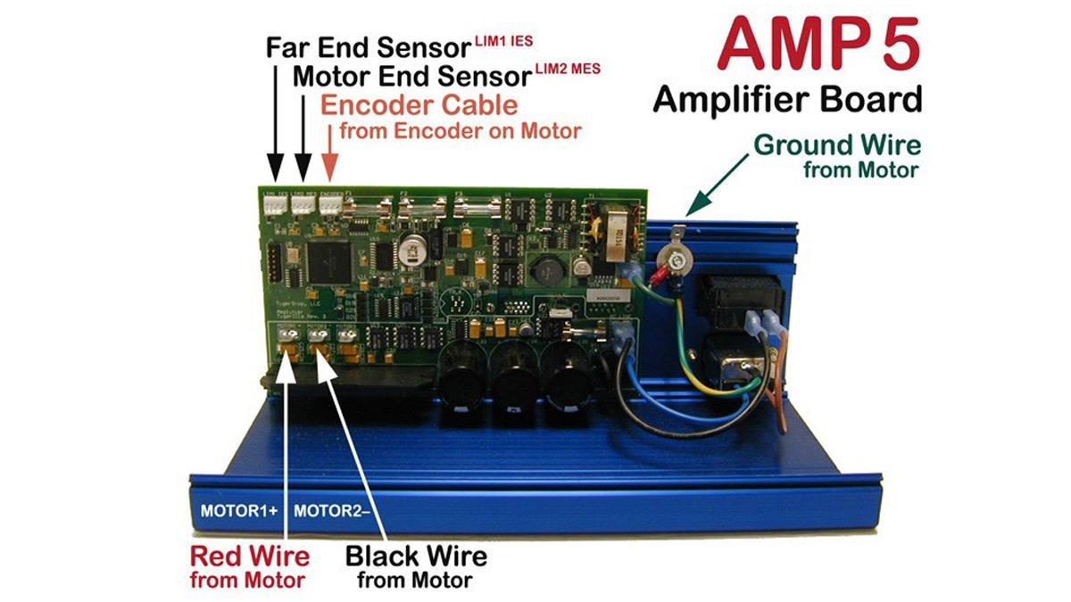 #AMP6 – TigerStop Amplifier